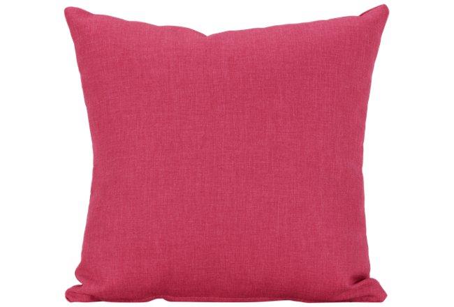 Suri Pink Fabric Square Accent Pillow