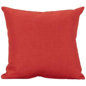 Suri Orange Square Accent Pillow