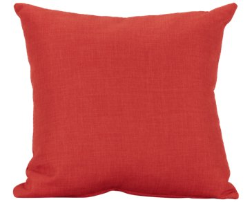 Suri Orange Square Accent Pillow