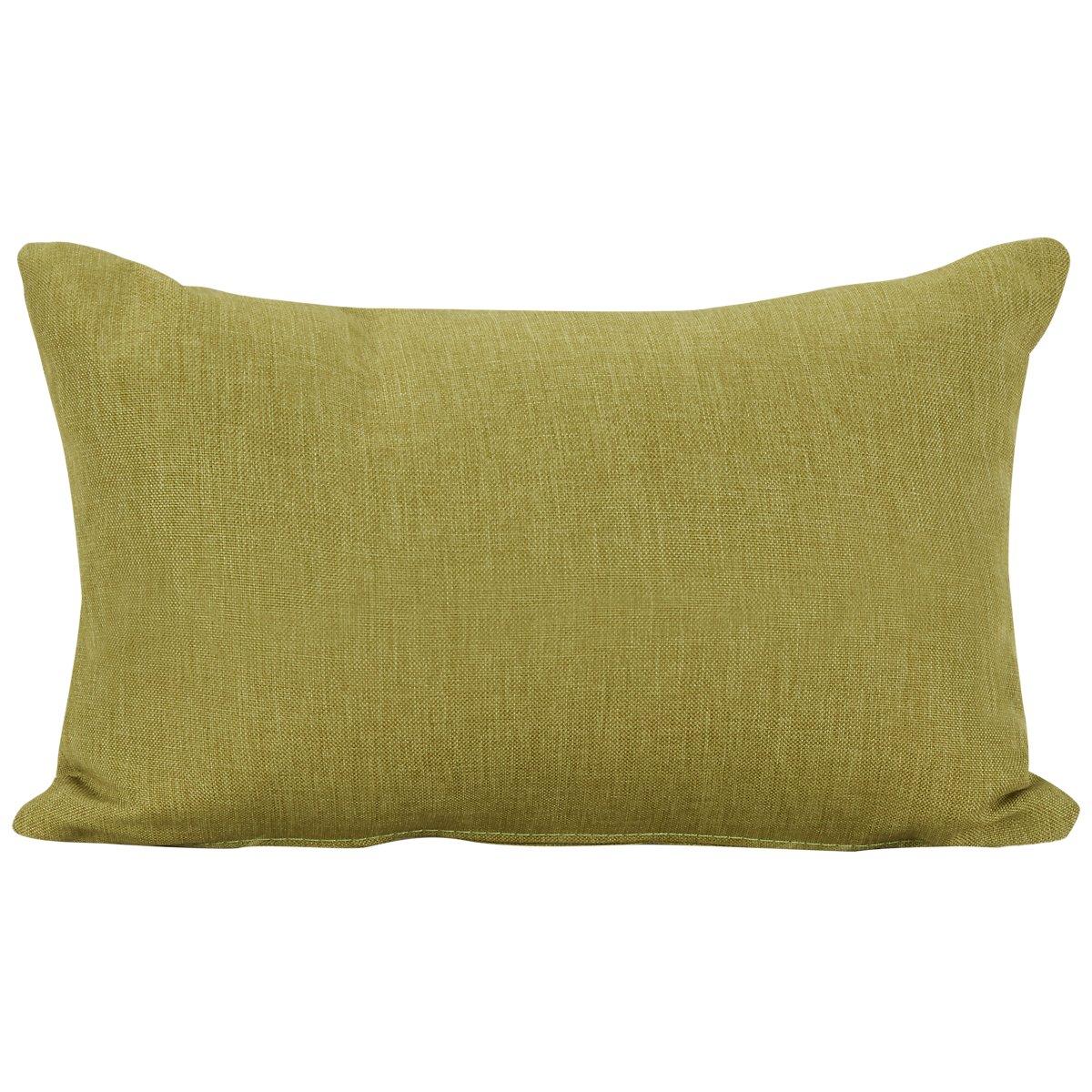 Callie Green Fabric Rectangular Accent Pillow
