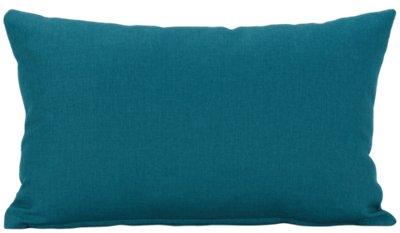 callie teal rectangular accent pillow