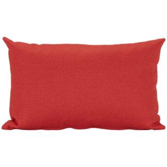 Callie Orange Rectangular Accent Pillow