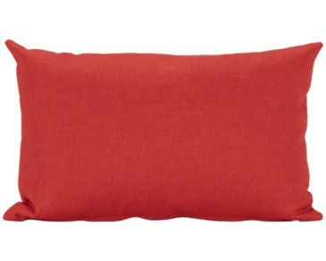 Callie Orange Rectangular Accent Pillow