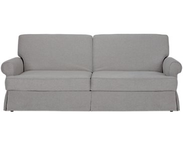 Owen Light Gray Sofa Futon