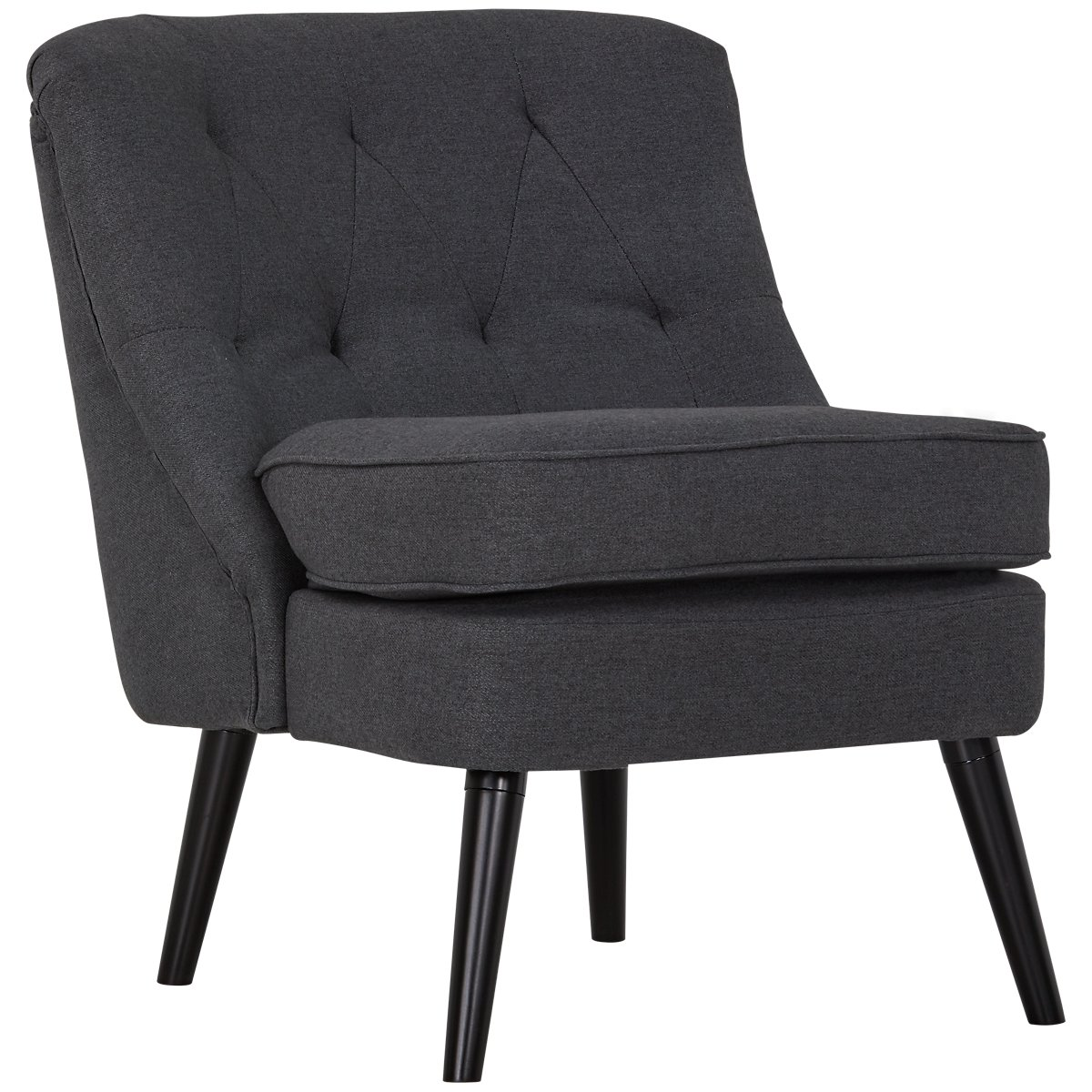 Darcy Dark Gray Accent Chair