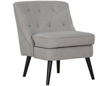 Darcy Light Gray Accent Chair