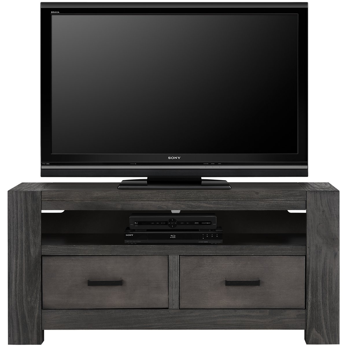 City Furniture Empire Gray 51 Tv Stand