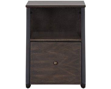 Blaine Dark Tone File Cabinet