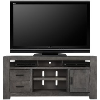 """Empire Gray 72"""" TV Stand"""