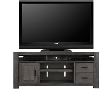 "Empire Gray 84"" TV Stand"