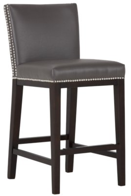 Madero Dark Gray Square High Table U0026 4 Upholstered Barstools. VIEW LARGER