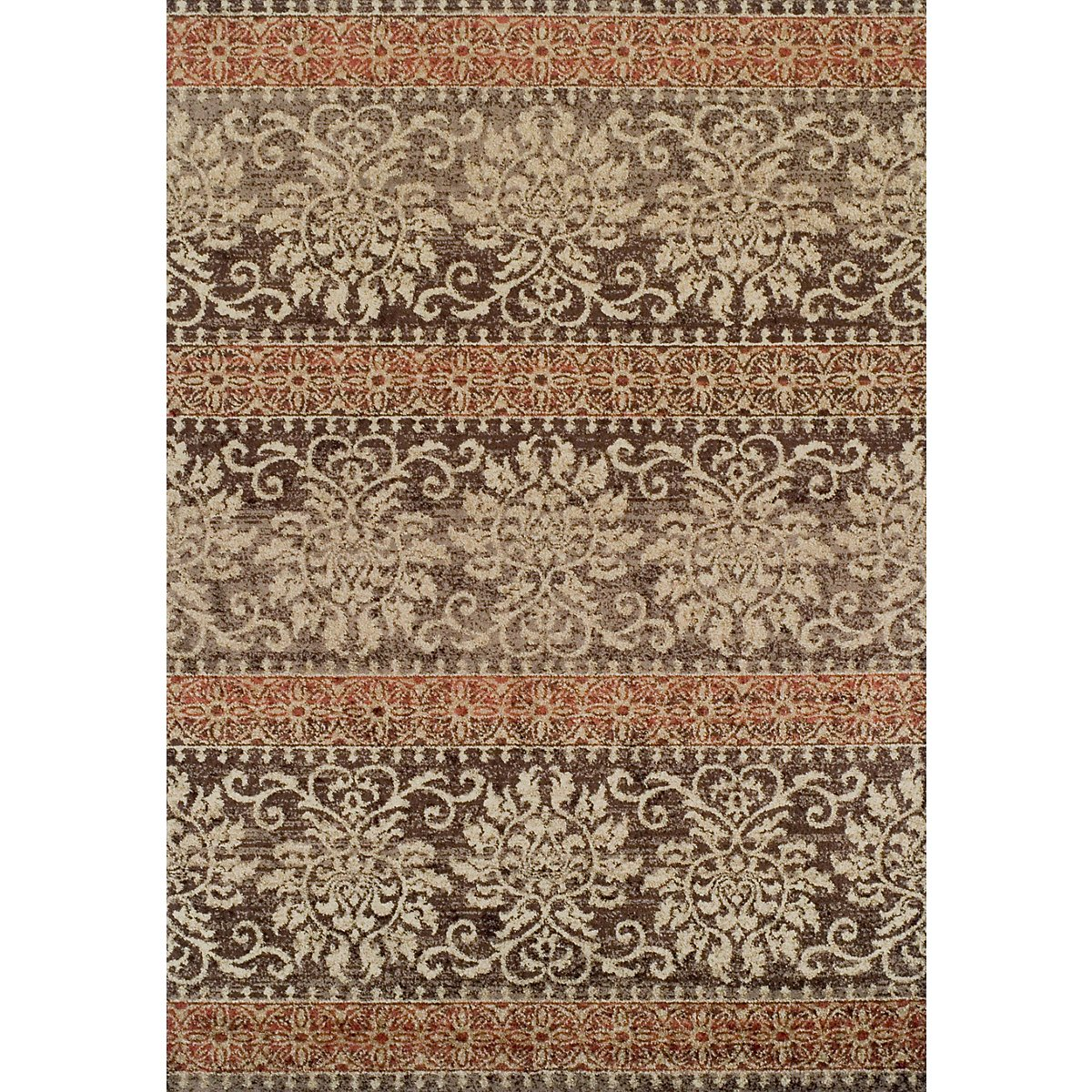 City Furniture: Gala Rust 5X7 Area Rug
