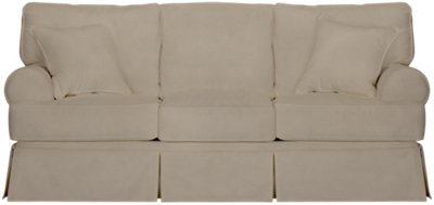 Harris Khaki Fabric Sofa