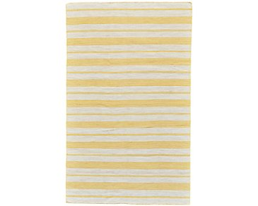 Duprine Yellow Indoor/Outdoor 5x8 Area Rug