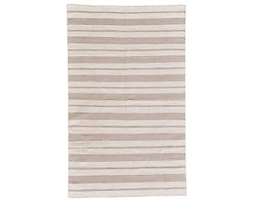 Duprine Beige Indoor/Outdoor 5x8 Area Rug