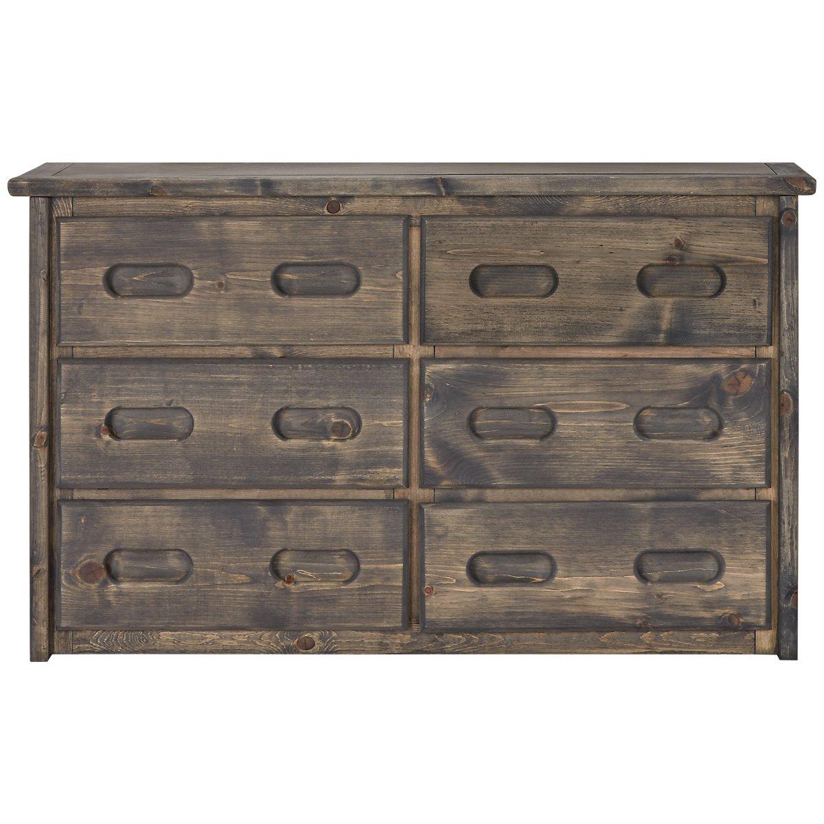 Cinnamon Gray Large Dresser
