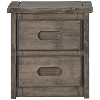 Cinnamon Gray Small Nightstand