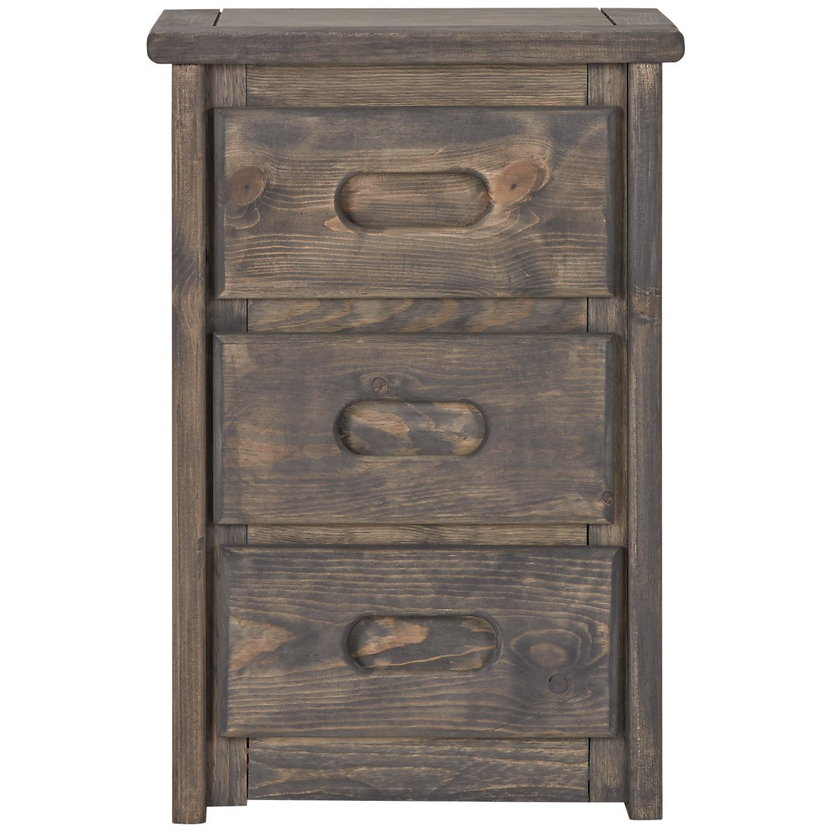 Cinnamon Gray Large Nightstand