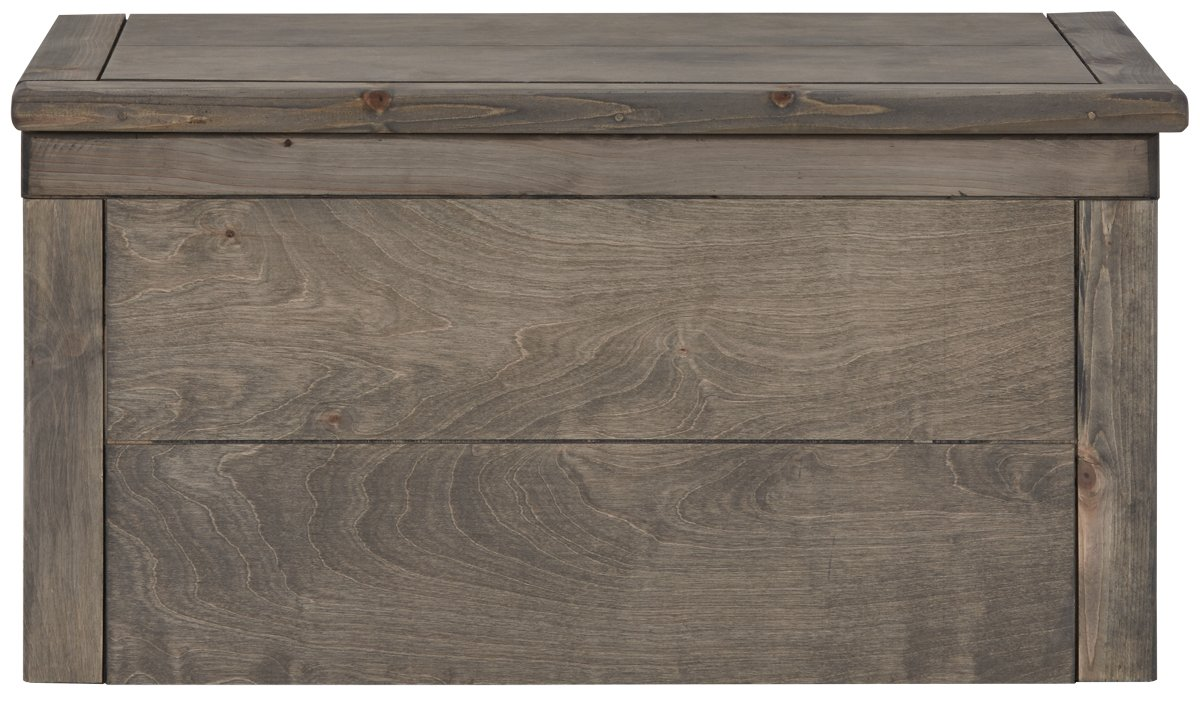 Cinnamon Gray Wood Toy Chest