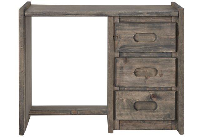 Cinnamon Gray Wood Writing Desk
