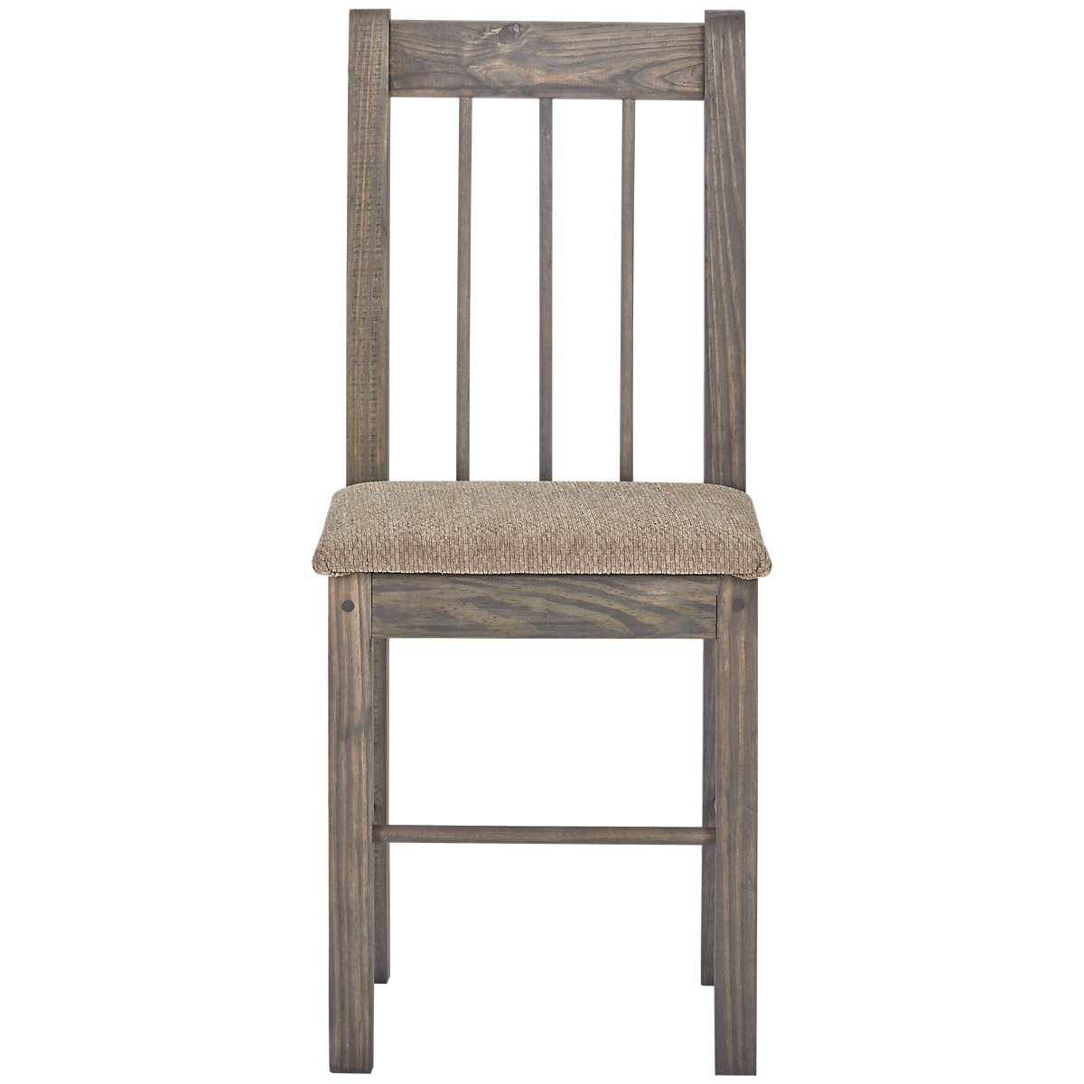 Cinnamon Gray Wood Chair