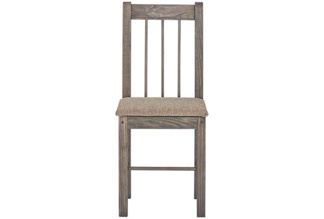 Cinnamon Gray Wood Chair