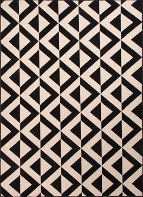 patio black 5x8 area rug