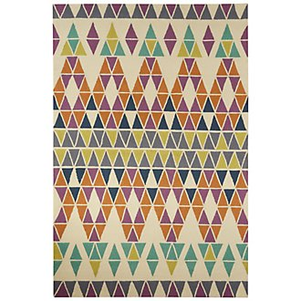 Catalina Multicolored Indoor/Outdoor 5x8 Area Rug