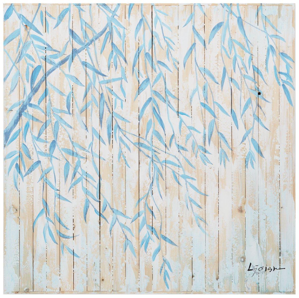 Willow Blue Wood Wall Art