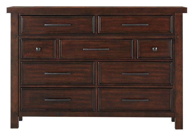 Napa Dark Tone Wood Dresser