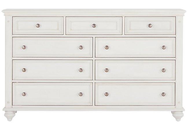 Savannah Ivory Wood Dresser