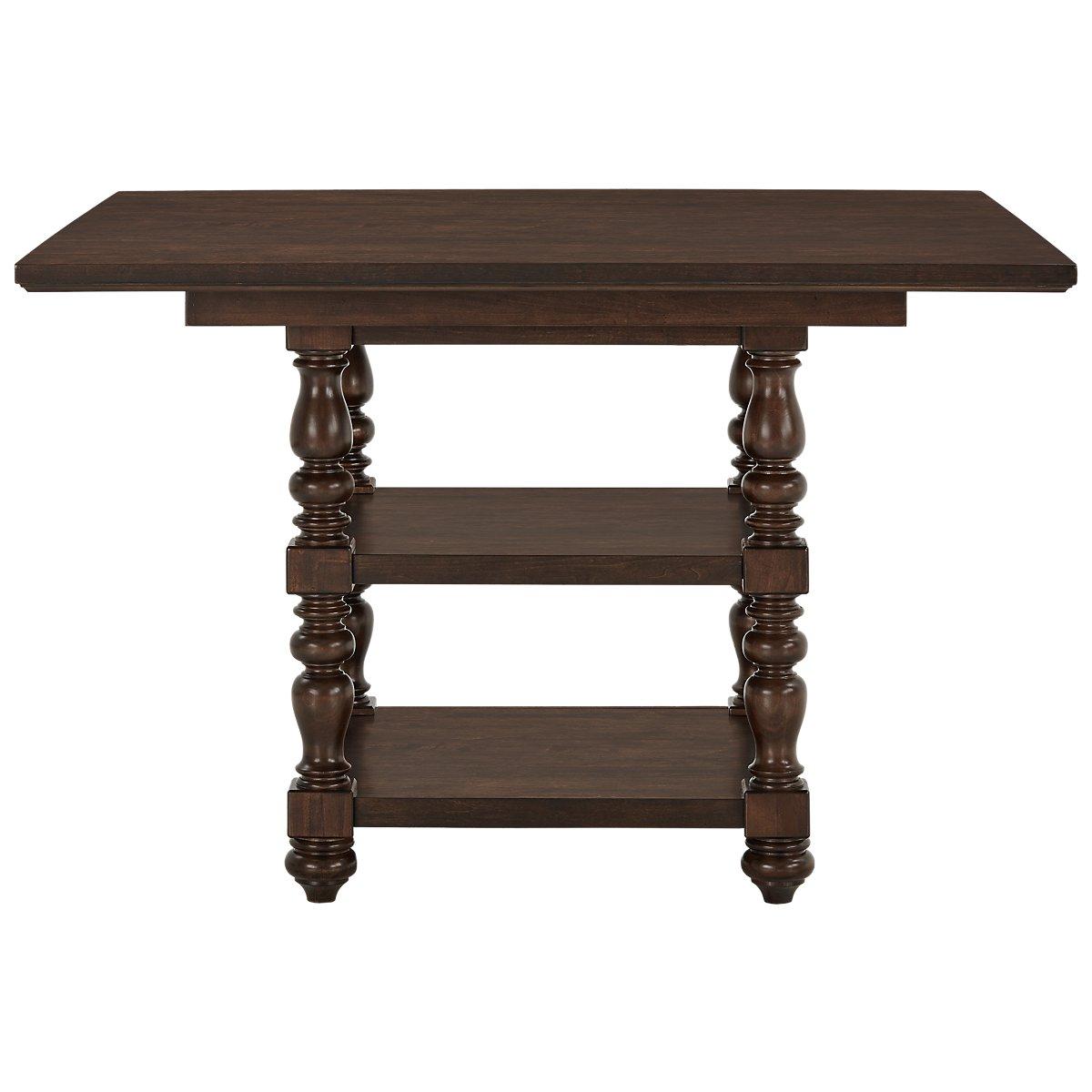 City Furniture Savannah Dark Tone High Dining Table
