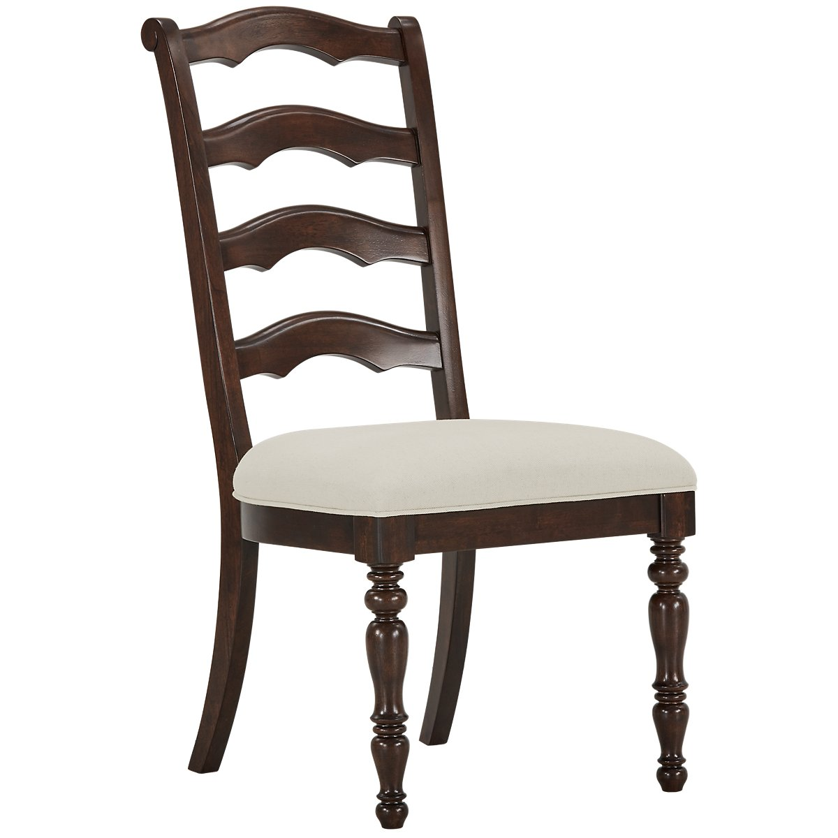 Savannah Dark Tone Wood Side Chair