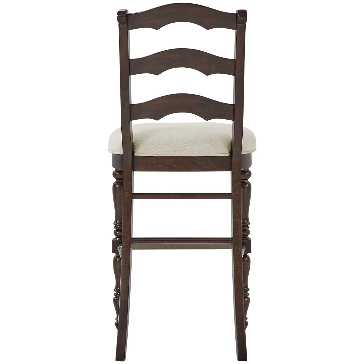 """Savannah Dark Tone Wood 30"""" Wood Barstool"""