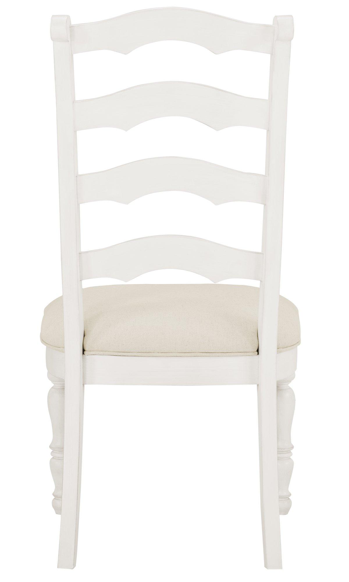 Savannah Ivory Wood Wood Side Chair