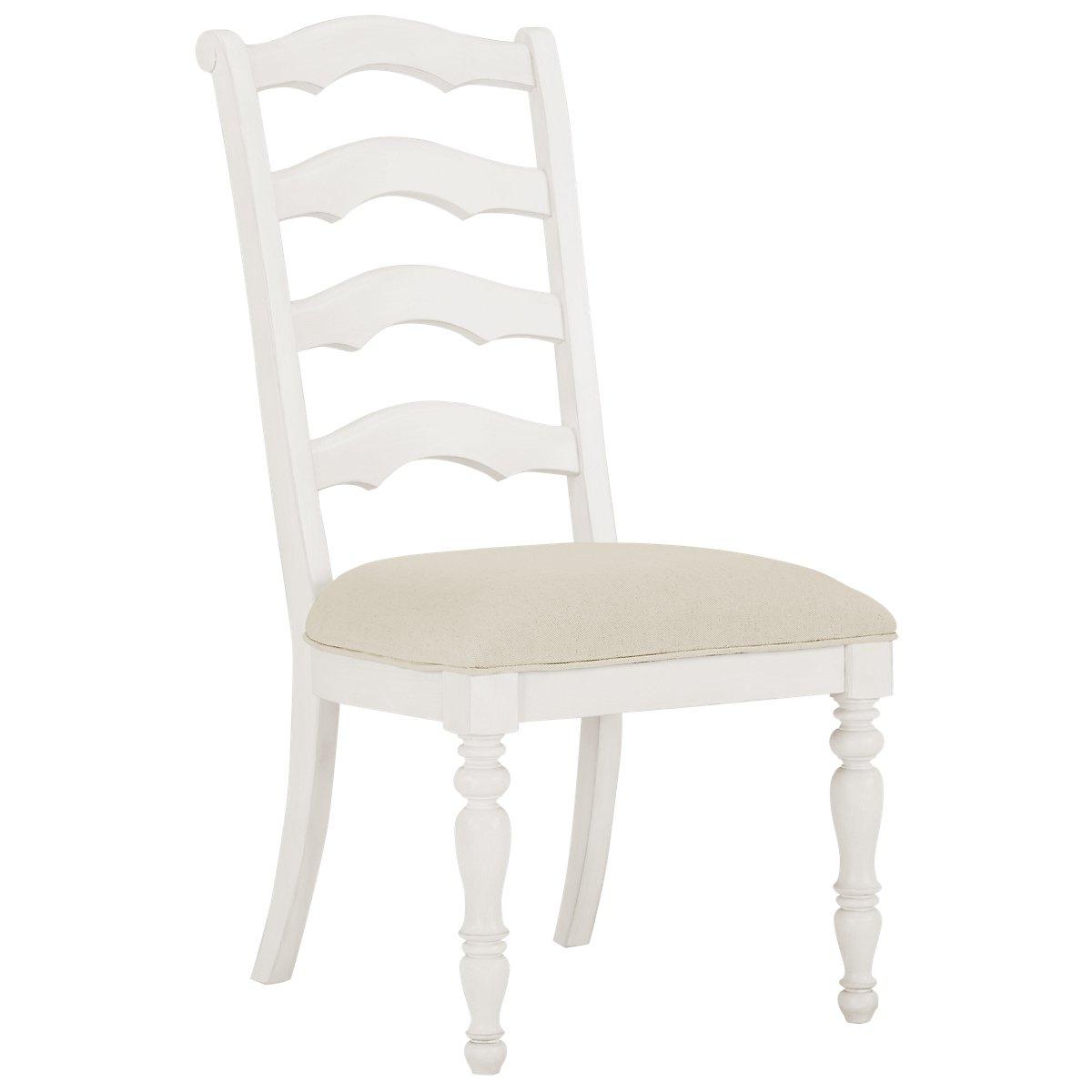 City Furniture Savannah Ivory Rectangular Table And Mixed