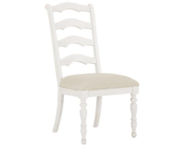 Savannah Ivory Wood Side Chair