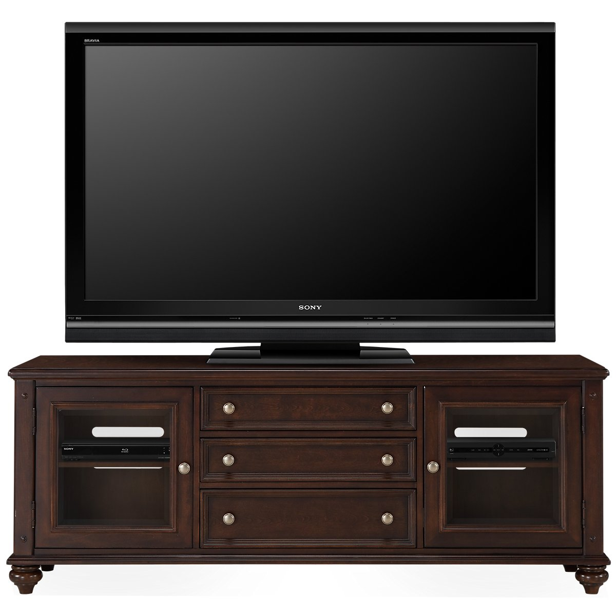 "Savannah Dark Tone 72"" TV Stand"
