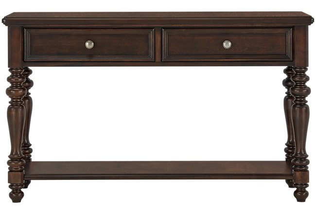Savannah Dark Tone Wood Sofa Table