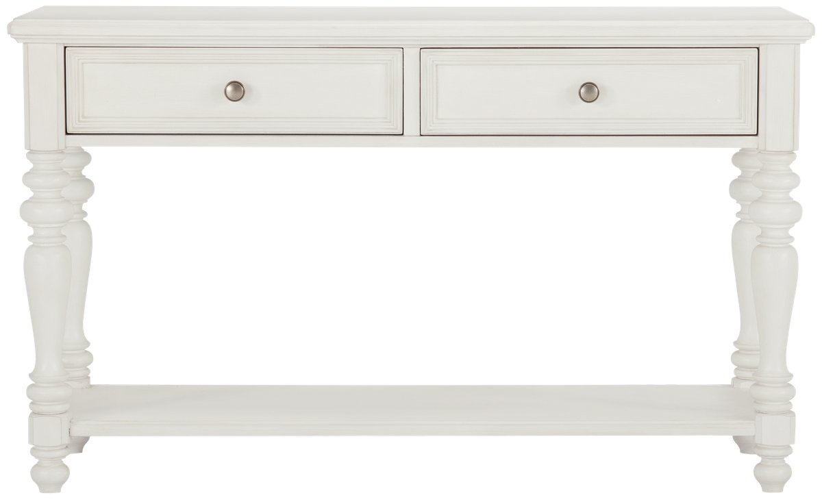 Savannah Ivory Wood Sofa Table