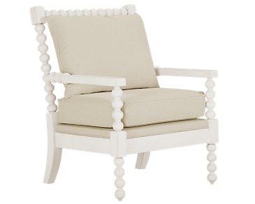 Savannah Ivory Accent Chair