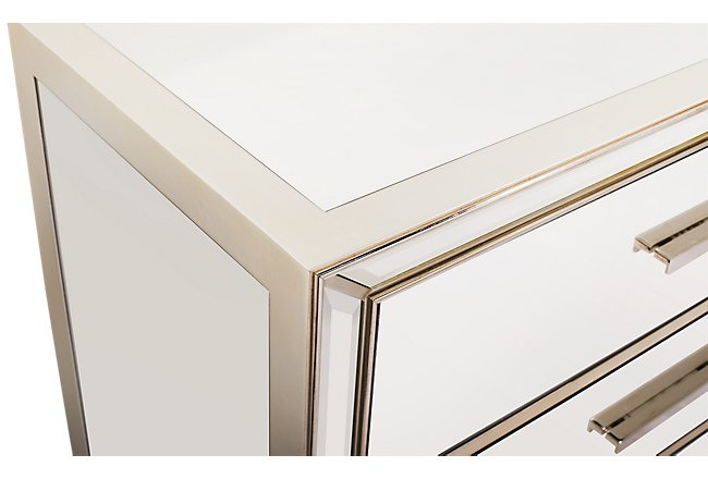 Monroe Mirrored Nightstand