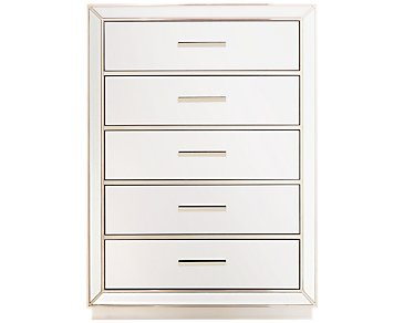 Monroe Mirrored Drawer Chest