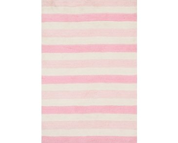 Lola Pink 3X5 Area Rug