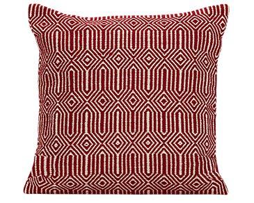 Daria Red Indoor/Outdoor Accent Pillow