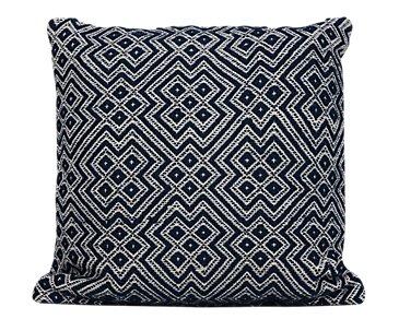 Finley Dark Blue Indoor/Outdoor Accent Pillow