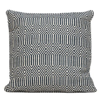 Daria Blue Indoor/Outdoor Accent Pillow