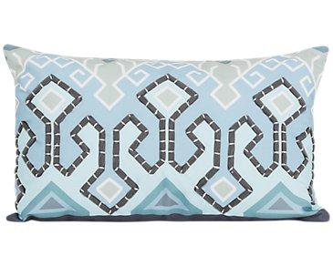 Karina Multicolored Indoor/Outdoor Rectangular Accent Pillow