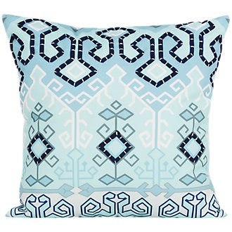 Liana Blue Indoor/Outdoor Accent Pillow