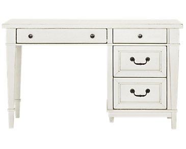 Stoney White Desk